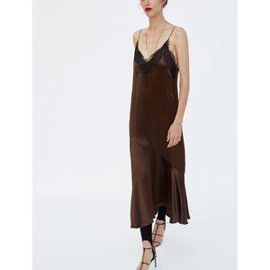 Zara Woman Lingerie Dress